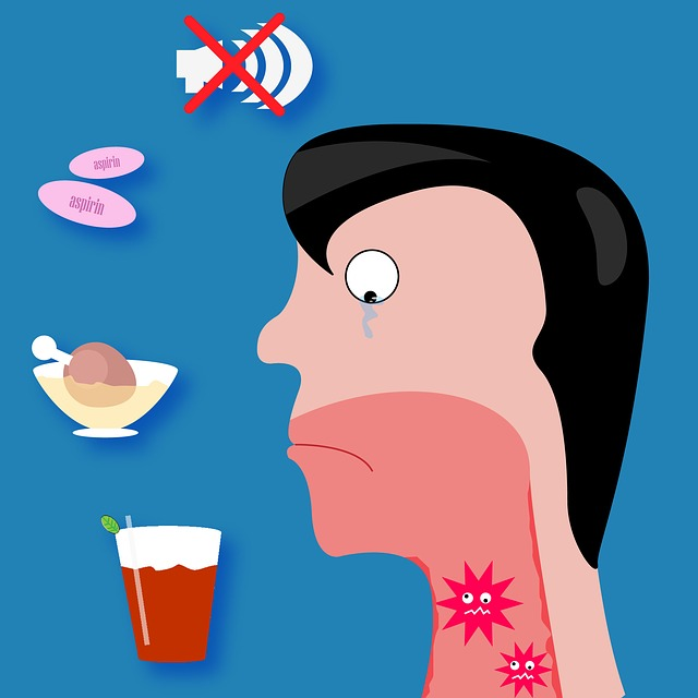 alergiczne zapalenie gardła