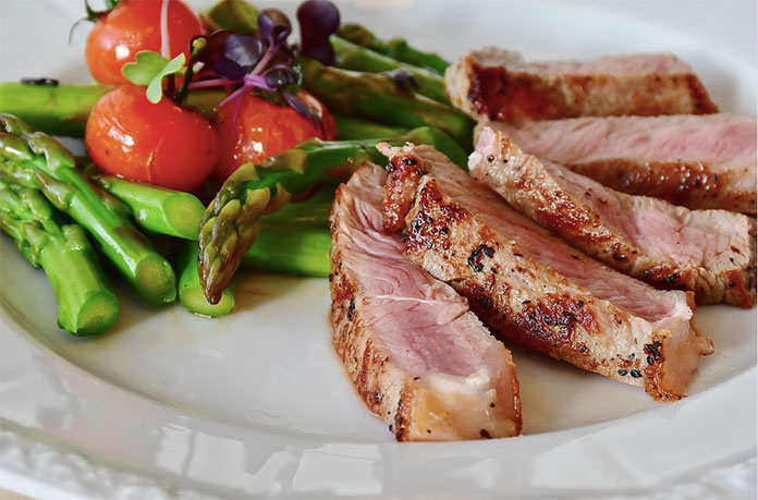 zdrowy i pożywny obiad